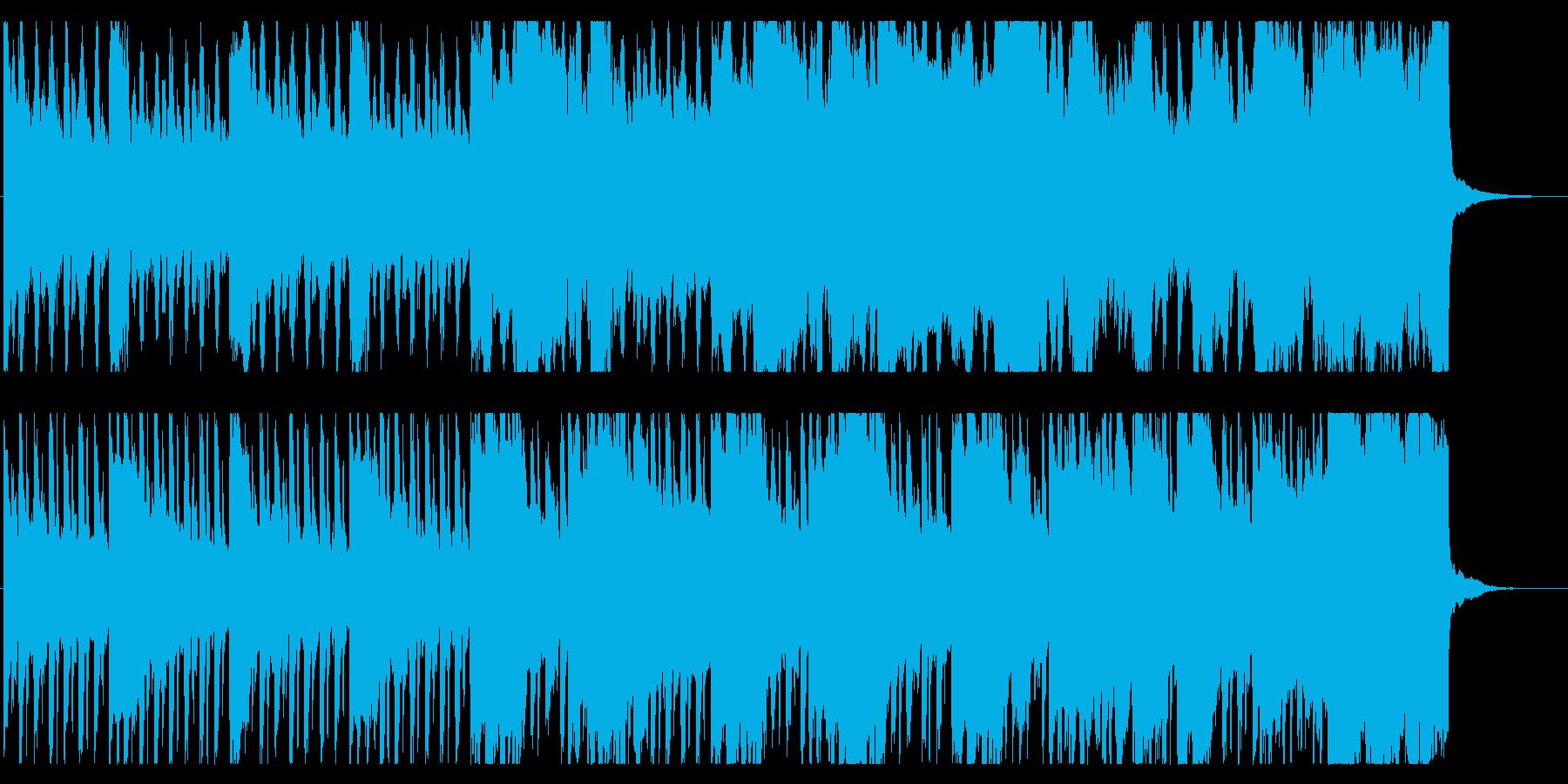森の奥深くをイメージした幻想的BGMの再生済みの波形