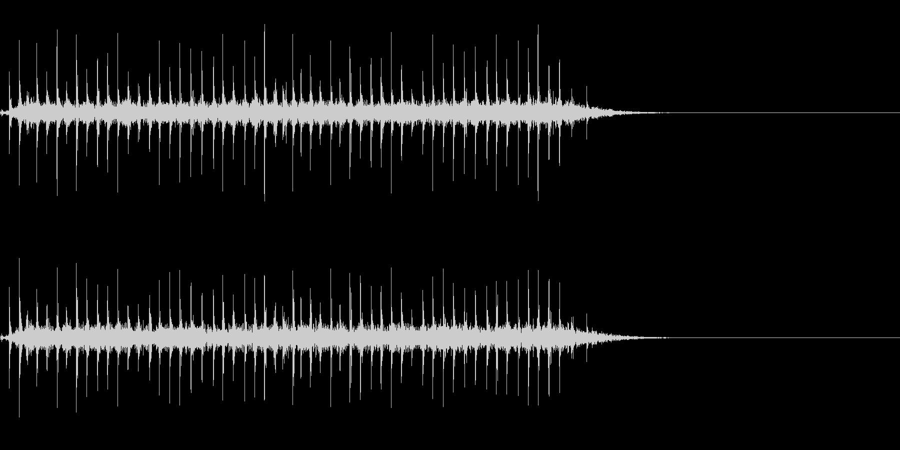 昔の時刻表のパタパタした音~低音編~の未再生の波形