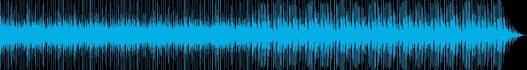 オシャレでほのぼのした雰囲気のテクノの再生済みの波形