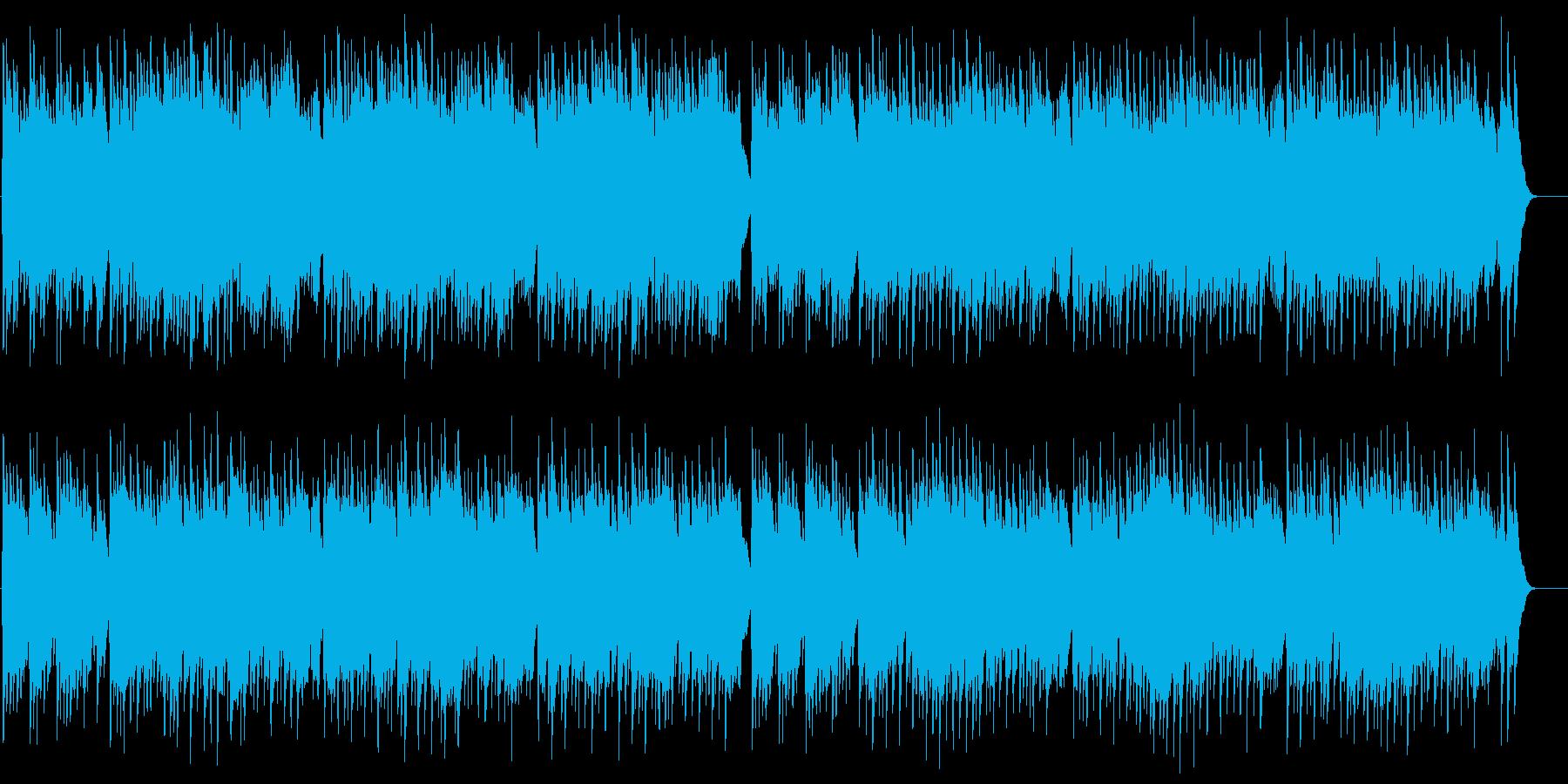 10人のインディアンオルゴールの再生済みの波形