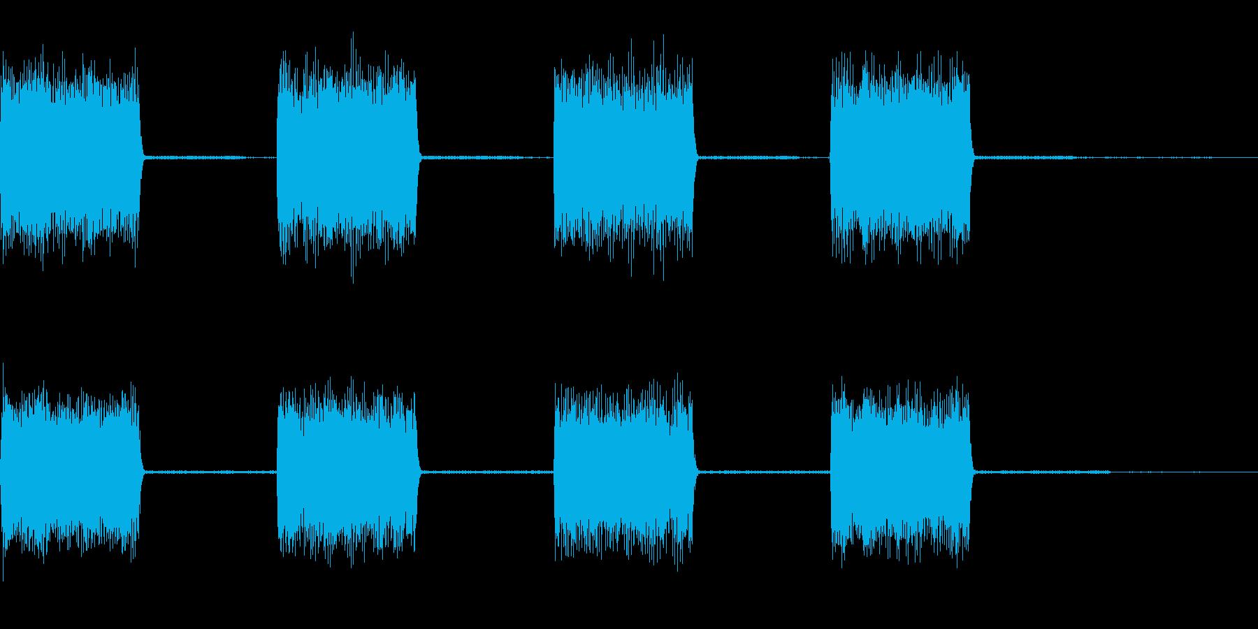 【効果音】警報音3の再生済みの波形