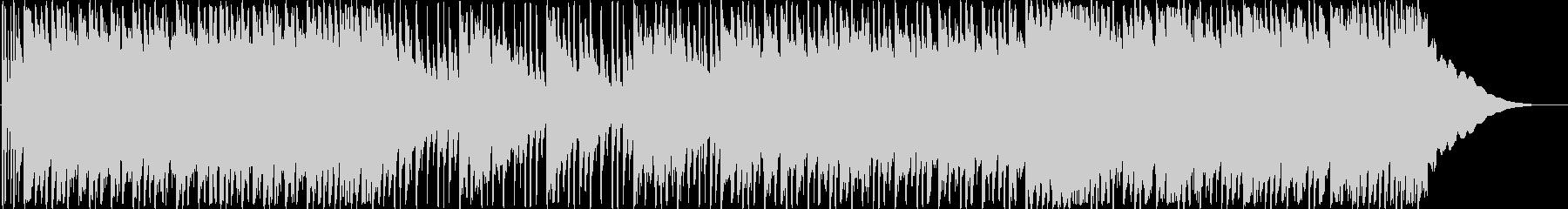 爽やかなミドルテンポのロックBGMの未再生の波形