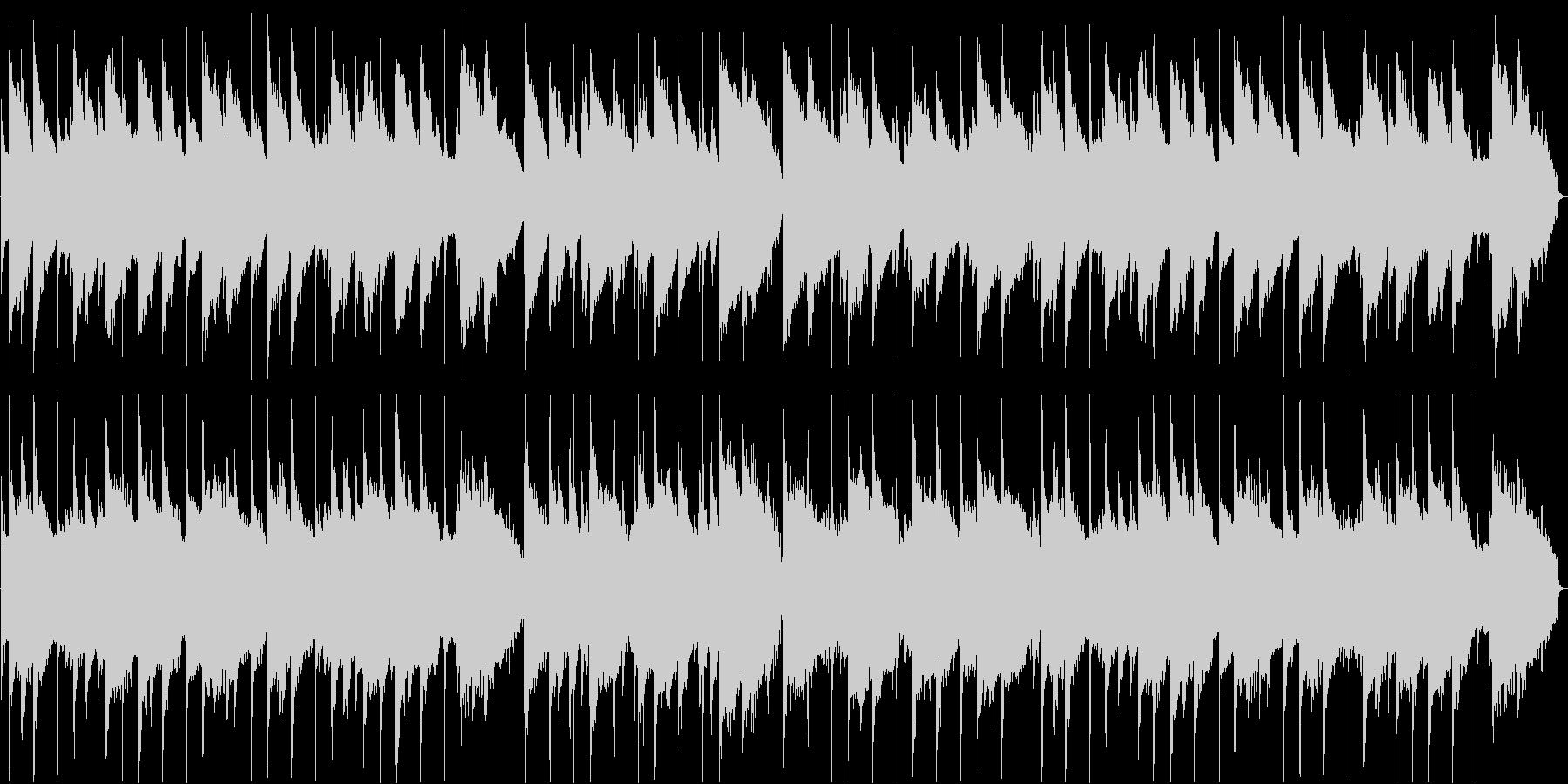やさしい気持ちになるピアノ旋律のバラードの未再生の波形