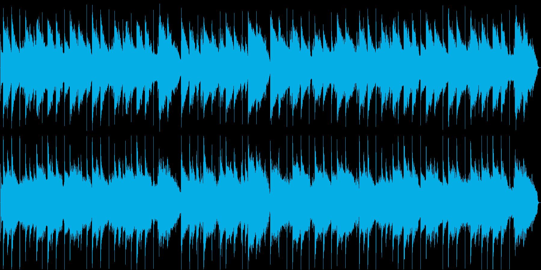 やさしい気持ちになるピアノ旋律のバラードの再生済みの波形