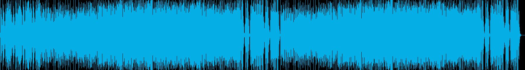 楽しいケルティック的な音楽の再生済みの波形