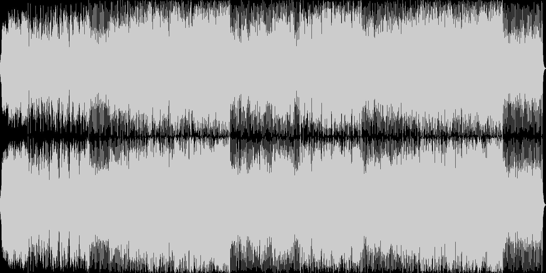 抒情的、神秘的なオーケストラ曲の未再生の波形
