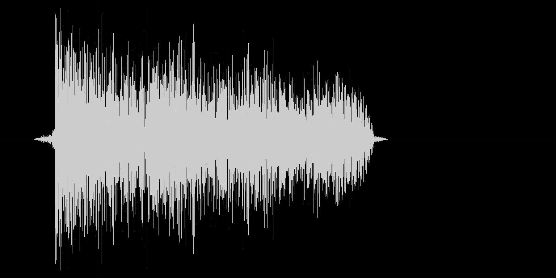 ゲーム(ファミコン風)爆発音_033の未再生の波形