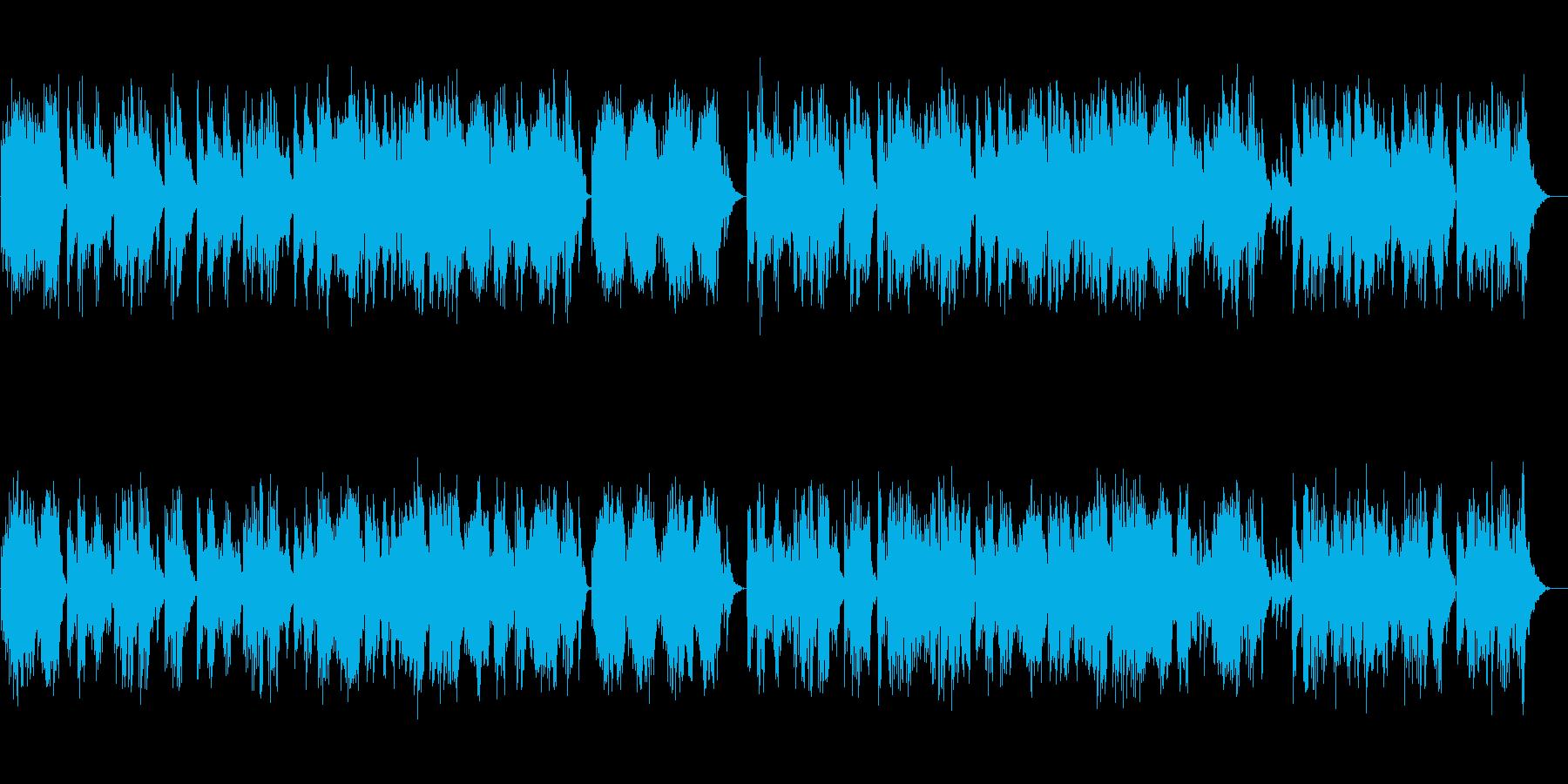 ロマンチックなバラード:キーボードの再生済みの波形