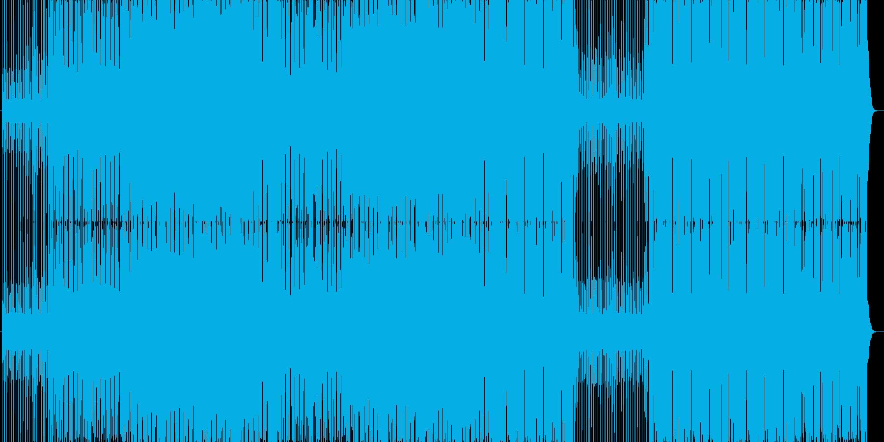 メロディーラインが印象的かもしれない曲。の再生済みの波形