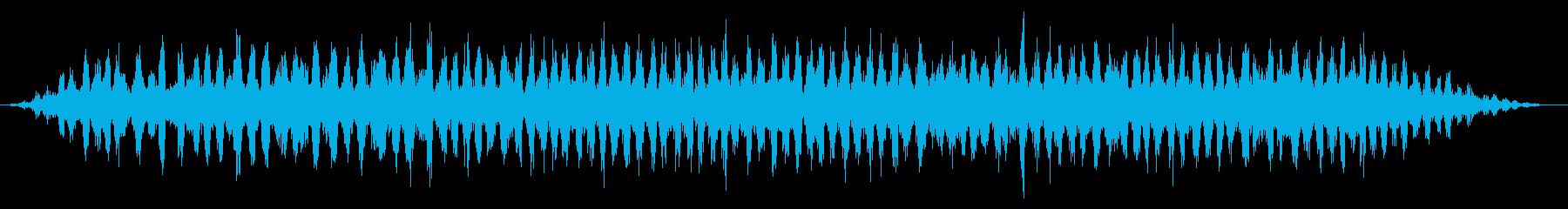 カエル/田舎/梅雨(20秒Ver.)の再生済みの波形