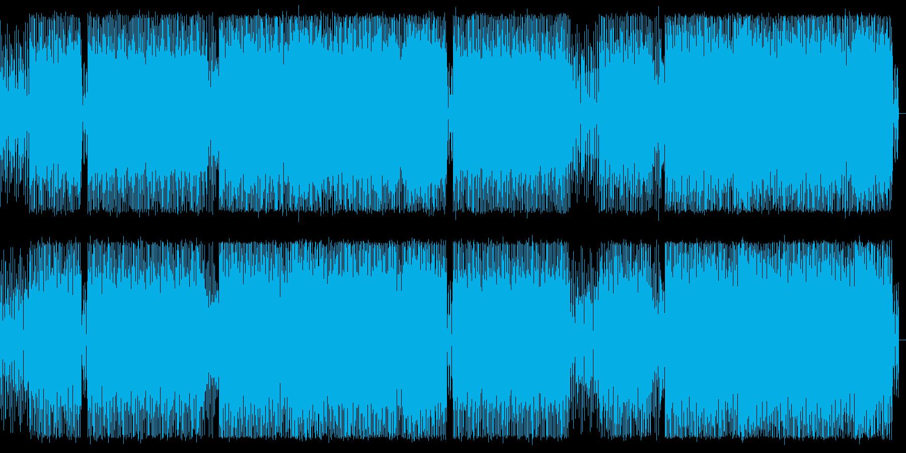 アラビア風EDMの再生済みの波形