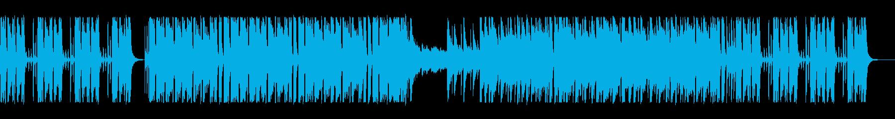 賑やかなシンセと拍手の音が軽快なポップスの再生済みの波形