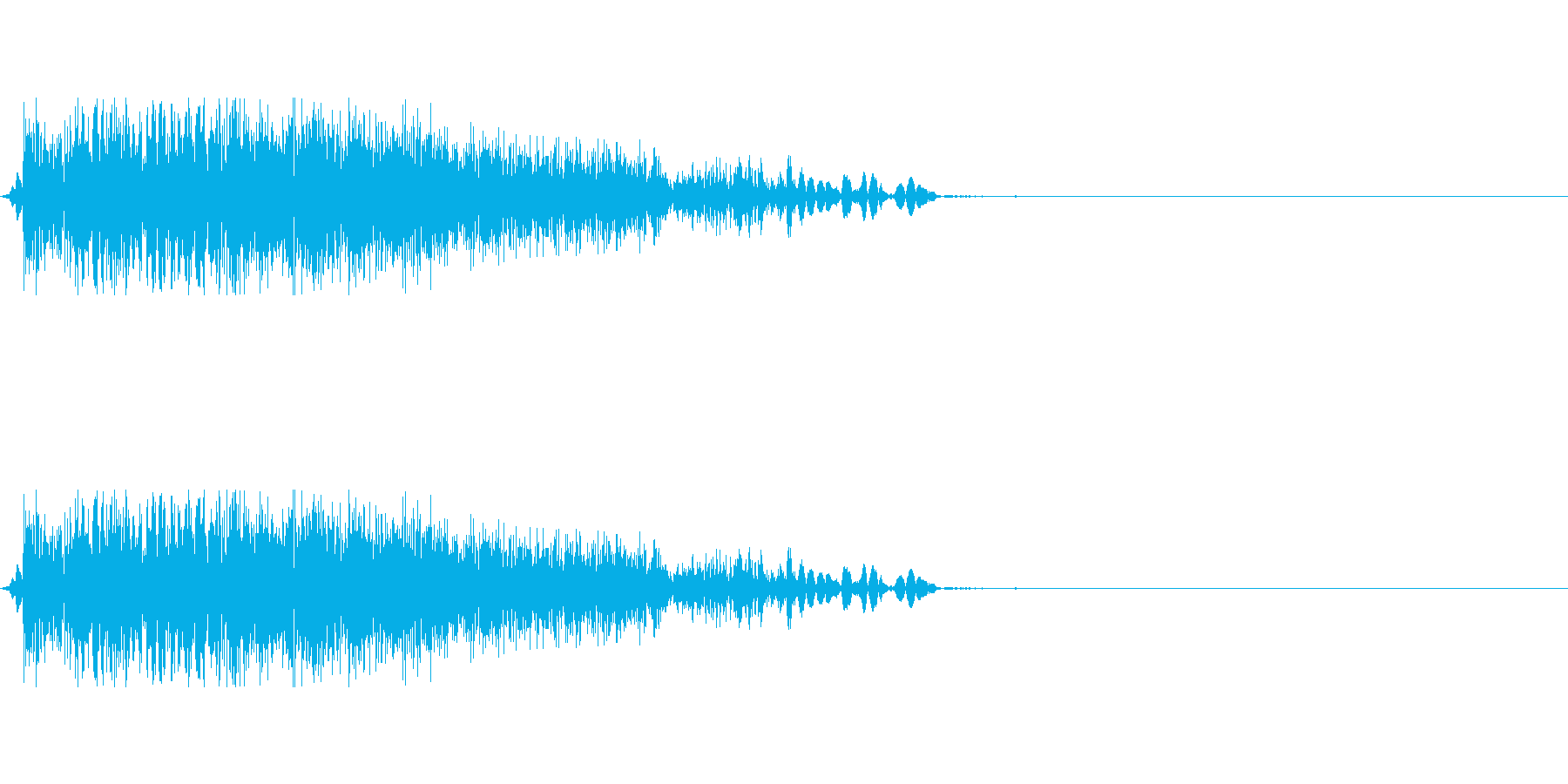[ズバッ]剣・刀で斬る(小)の再生済みの波形