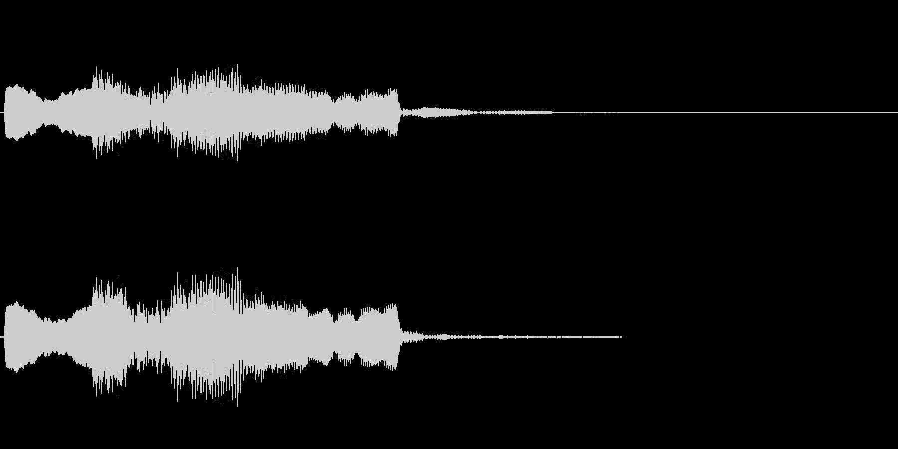 【システム音セット01-ポップアップ】の未再生の波形