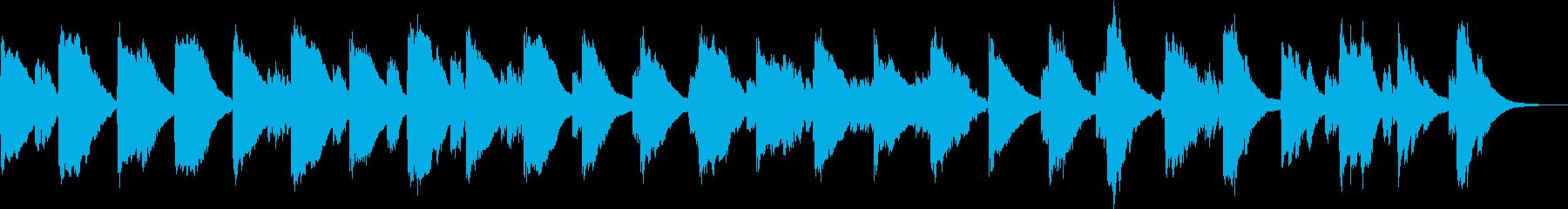 もやもやした雰囲気のアコギ曲の再生済みの波形