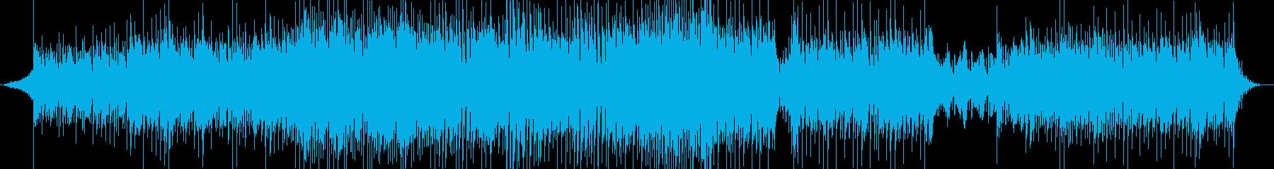 疾走感のあるバトルBGMの再生済みの波形