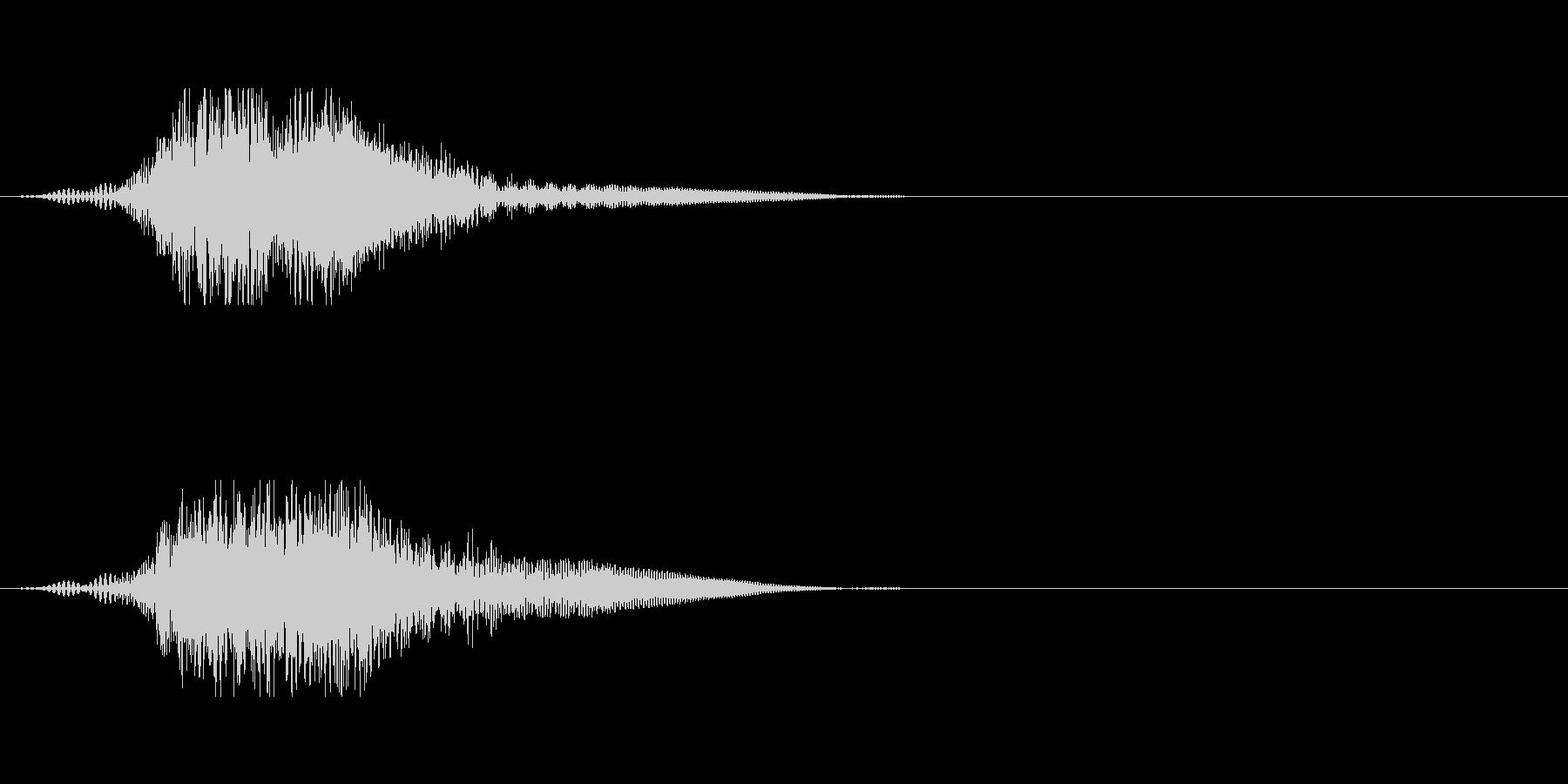 SFの開閉音や小規模ワープ風の未再生の波形