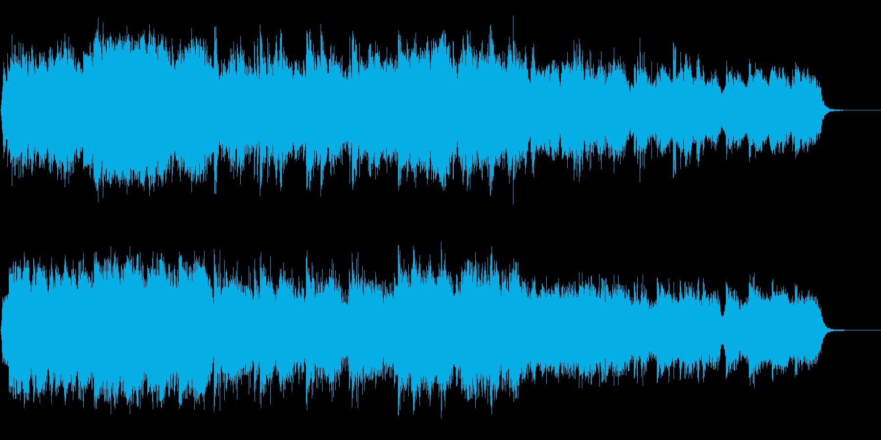 切なく盛り上げるハリウッド系オーケストラの再生済みの波形