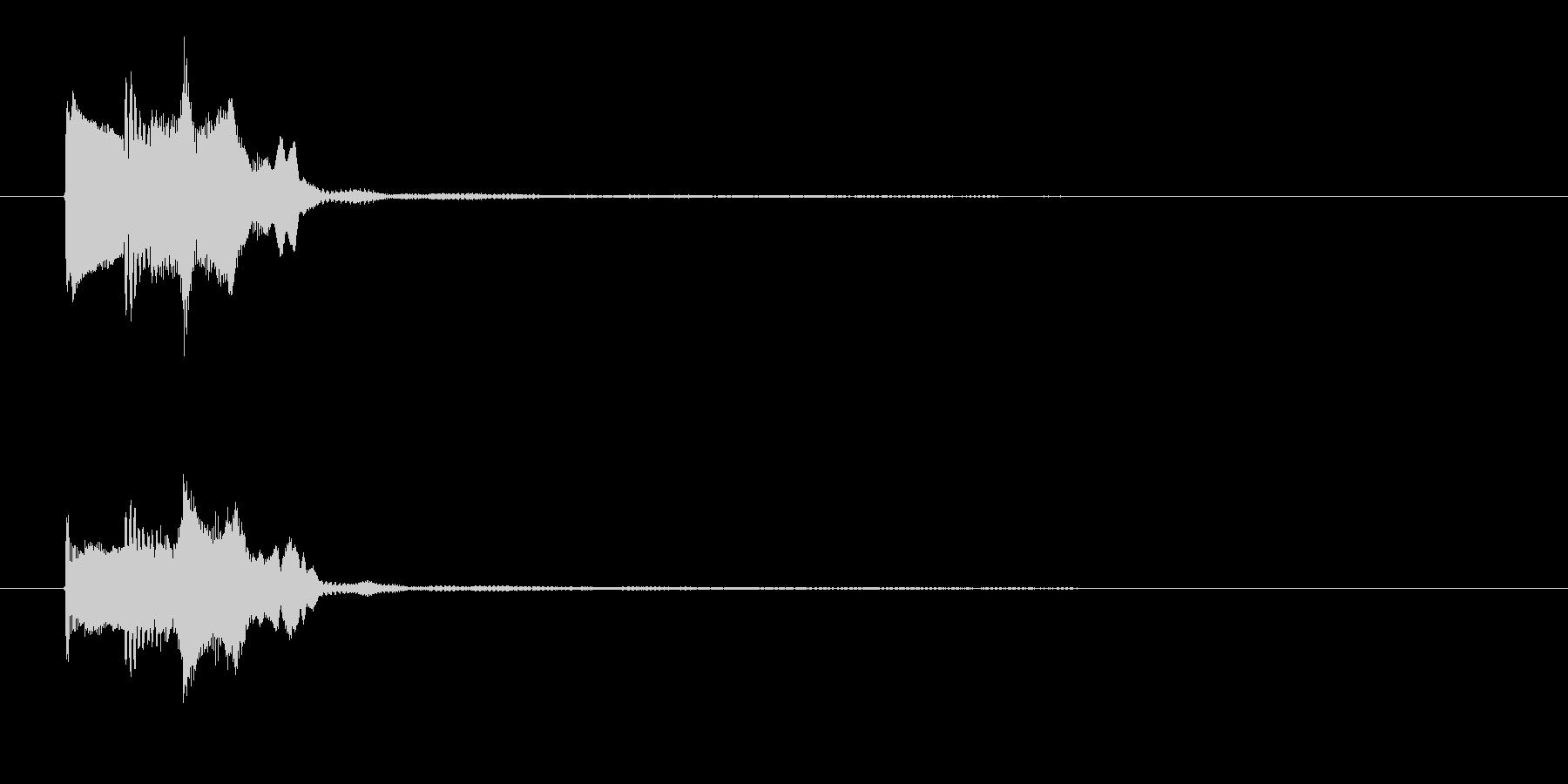 ゲーム決定音4    K18の未再生の波形