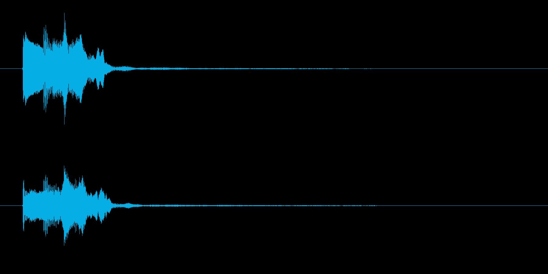 ゲーム決定音4    K18の再生済みの波形