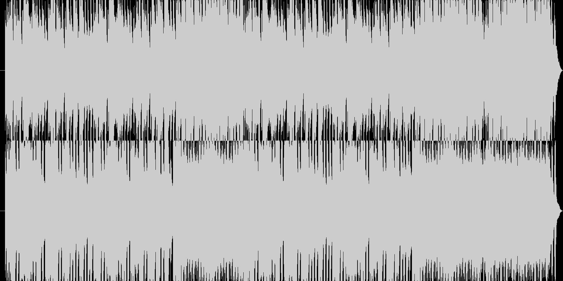 オルゴールによる謎めいた空間ワルツの未再生の波形