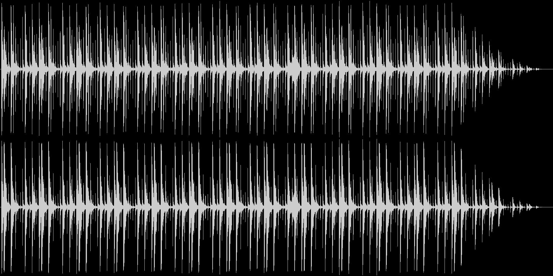 パーカッションの曲。の未再生の波形