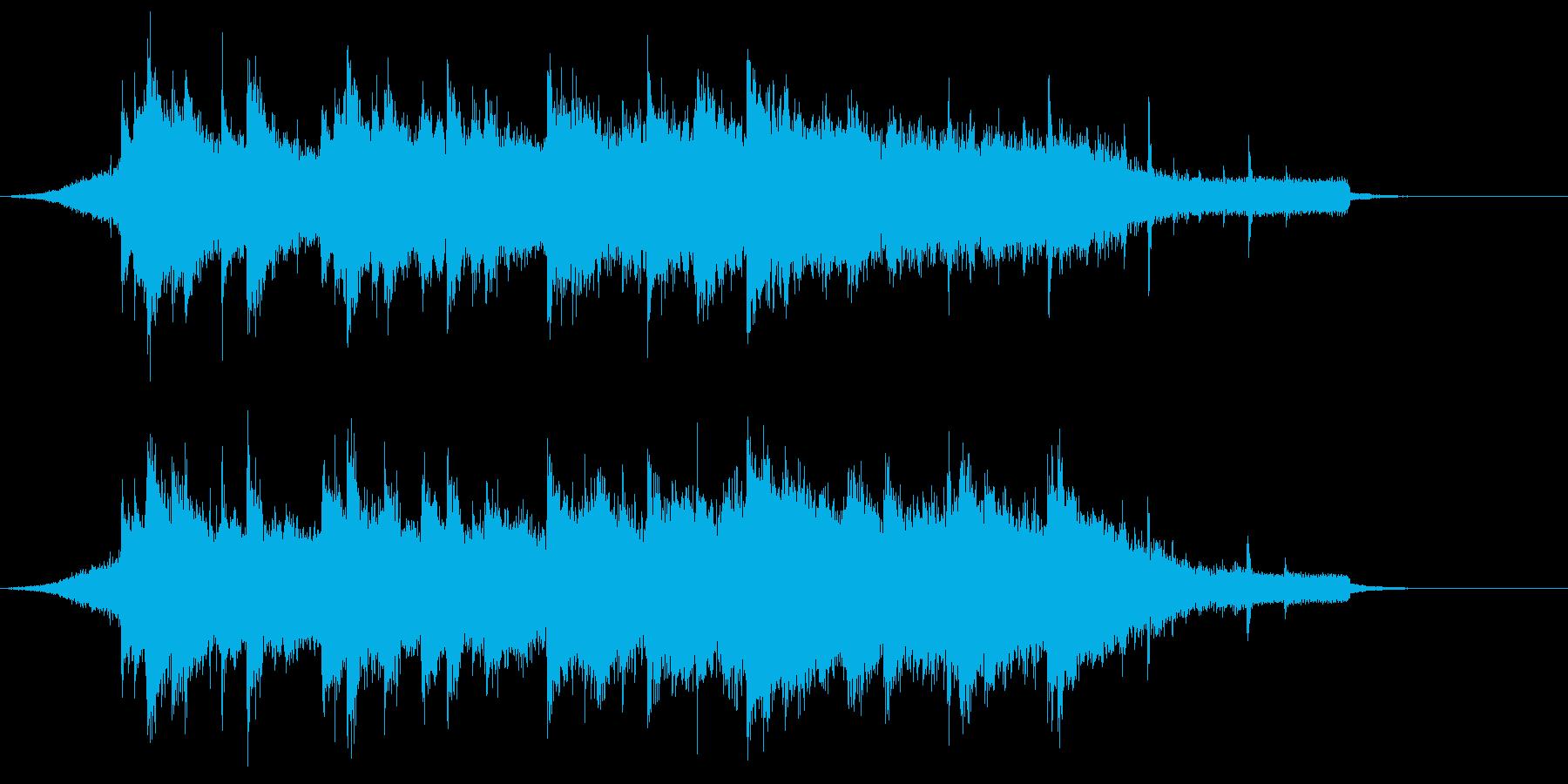 幻想的 和風Popsアレンジ ジングルの再生済みの波形