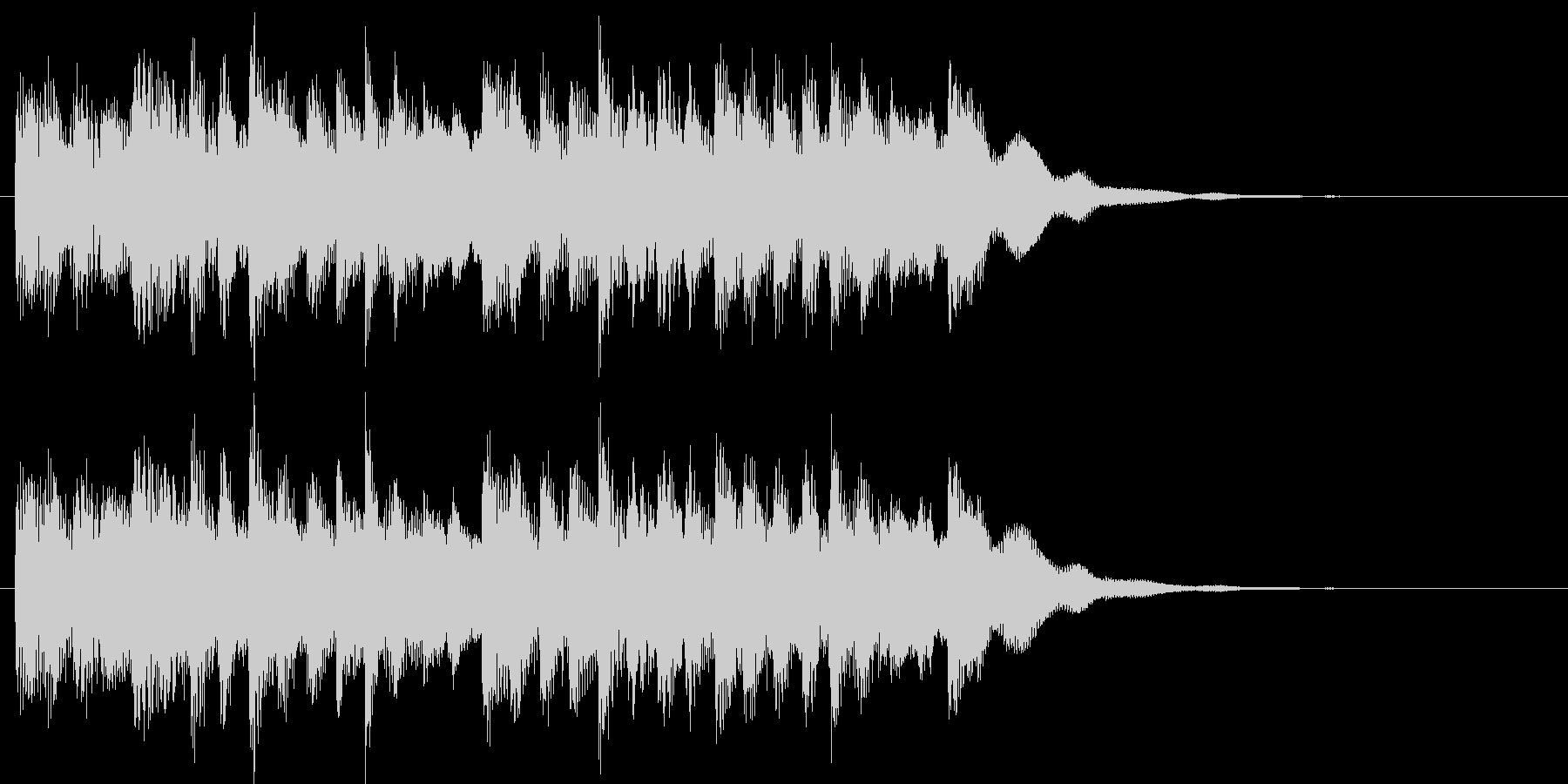 おしらせチャイムの未再生の波形