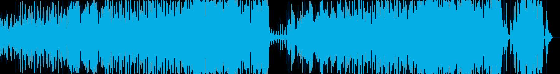 起承転結のある温かいピアノオーケストラの再生済みの波形
