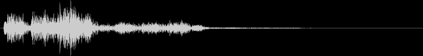 ボワワンボワワン(毒の魔法・ポイズン)の未再生の波形
