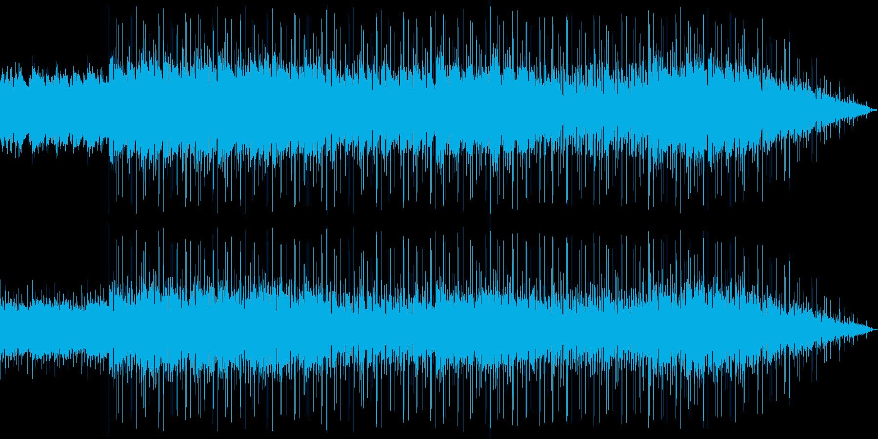 夏っぽさのある爽やかなエレクトロニカの再生済みの波形