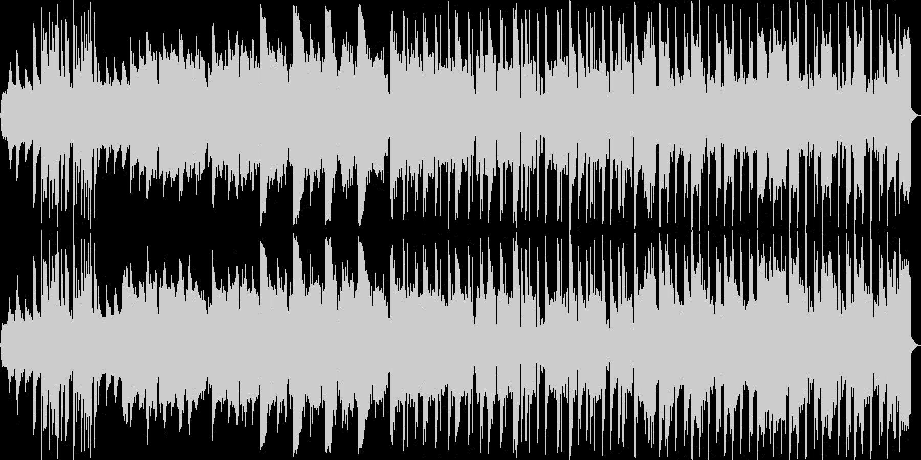 ほのぼのしたエレクトロの未再生の波形