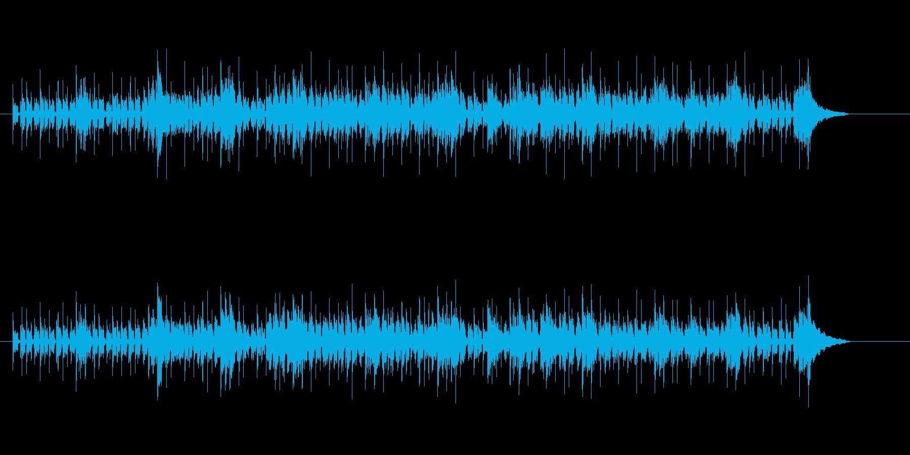 ファンキーで渋いフュージョンの再生済みの波形