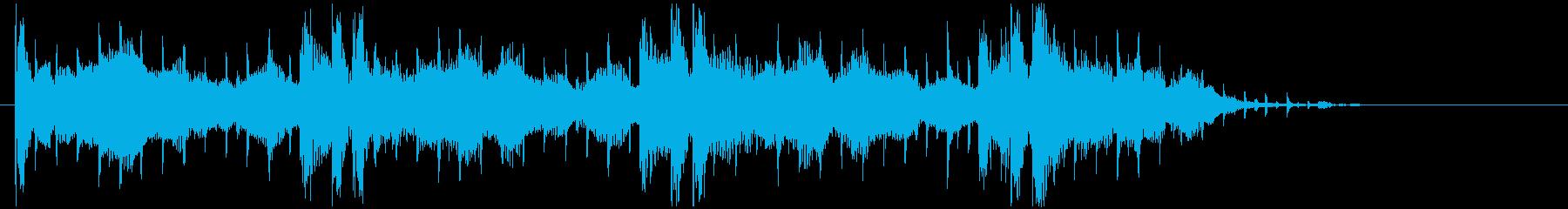 神秘的で不思議なスピリチュアルジングルの再生済みの波形
