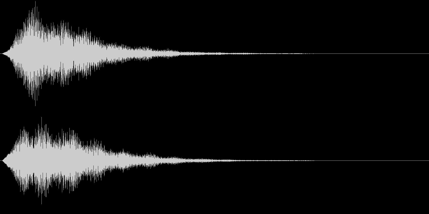 フィーン(サウンドロゴ、決定、ゲーム)の未再生の波形