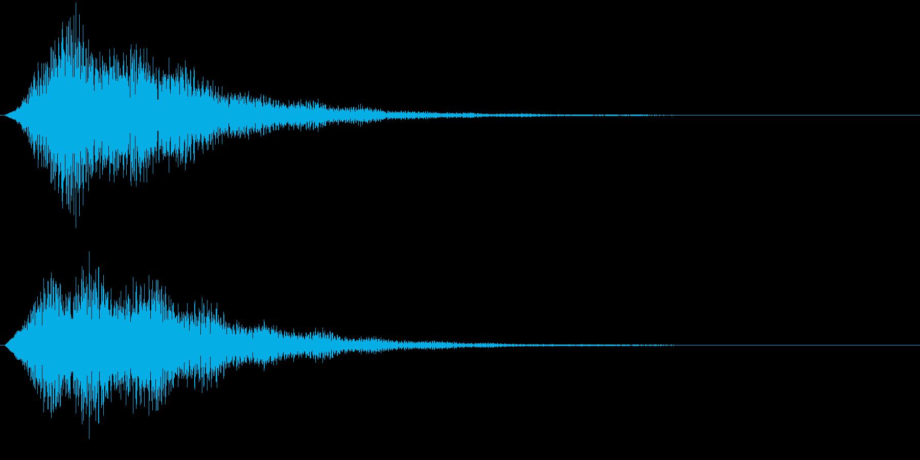 フィーン(サウンドロゴ、決定、ゲーム)の再生済みの波形