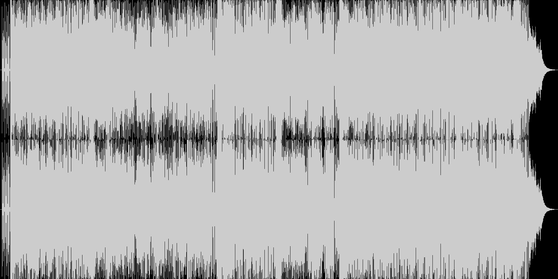 サックスが印象的な軽快なポップスの未再生の波形